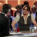 Johnny Depp at Grand Journal Thursday 24 NOV.