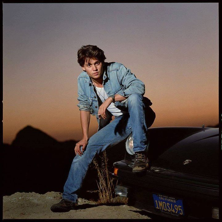 "@smithsonianmagazine  1987 ""Johnny Depp was just …"