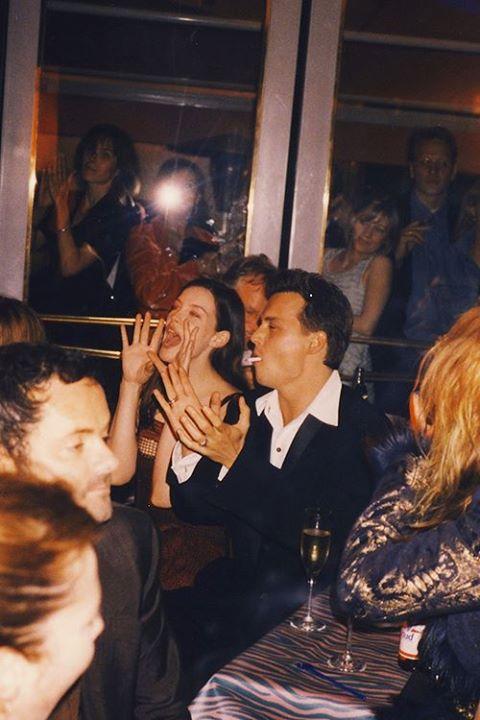 *Rare* Johnny & Liv Tyler