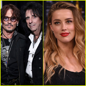 Alice Cooper Defends Longtime Pal Johnny Depp Against Amber Heard Abuse Claims